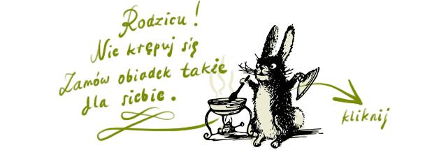 królik zaprasza naobiadki